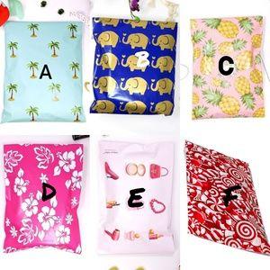 Other - 100 PICK YOUR OWN DESIGN 6X9 POLYMAILERS